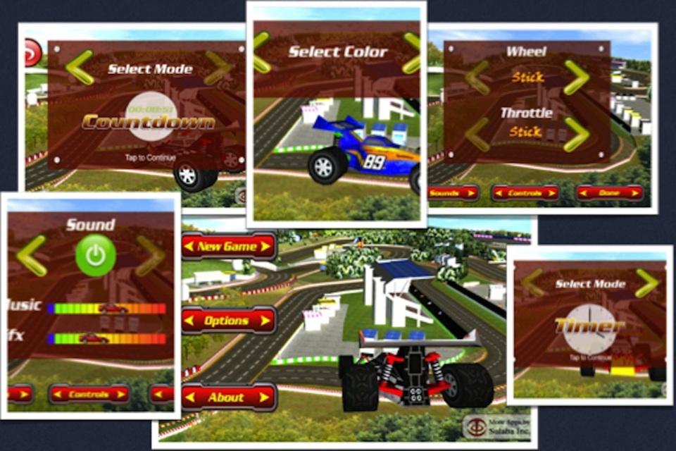 Screenshot Circuit Racer 3D Top Racing Game – Best Time To Race